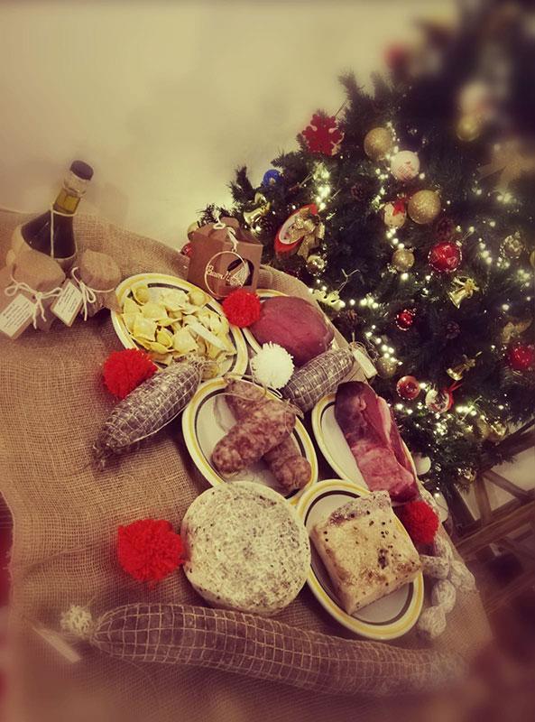 La Combriccola del Fiasco - cesto natalizio